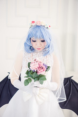 Remilia Scarlet - Wedding Dress (bdrc) Tags: 35mm apsc a6000 alpha alphauniverse architecture asdgraphy asia cosplay dress f18 flash historical indoor interior photoshoot prime project remilia scarlet sel35f18 singapore sony sonyalpha sonyimages sonyphotography structure takako theater touhou travel vampire victoria wedding wideangle
