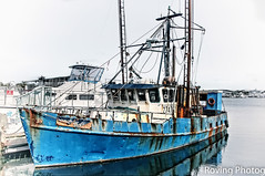 Old Fishing Boat (robtm2010) Tags: capecod massachusetts usa newengland canon canont3i t3i boats water ocean fishingboat hyannis harbor hyannisharbor