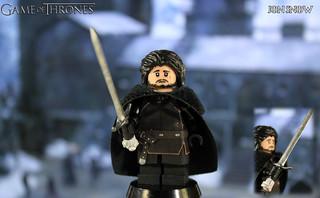 Custom LEGO Game of Thrones | Jon Snow