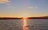 Sunset at a lake (A. Meli) Tags: lake sunset january 2018 január tél winter januar water sun nap naplemente táj tájkép landschaftsbild landscape wasser víz tópart