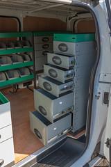 Chestnutt Holiday Parks Van (Van Line NI) Tags: citroen dispatch peugeot expert toyota preach system edstrom racking plyline van