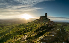 St Michael de Rupe, Brentor. (Go placidly amidst the noise and haste...) Tags: brentor dartmoor church stmichaelderupe nationalpark sunrise dawn early morning moor sun sunshine westcountry southwest