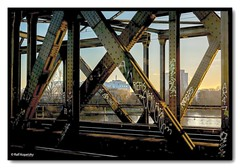 114 Main Brücke (md11wings) Tags: frankfurt germany eisenbahn railway main fluss bridge graffiti