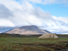 * (~janne) Tags: kamera e520 europa island berge kjalvegur zelt natur umwelt icland camp camping environment europe olympus tent