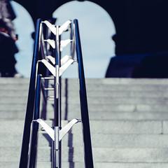 Steel Shadows (**capture the essential**) Tags: 2017 bern berne city fotowalk mog mogprimoplan1975neo meyeroptikgörlitzprimoplan1975neo people schweiz sonya6300 sonyilce6300 stadt street streetlife switzerland vintage