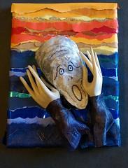 Screaming Oyster-Susan Dodd #32 (ocracokepreservationsociety) Tags: ocracoke ops obx ocracokeisland opsauction art