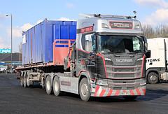 Feb 28 2018 M4 reading CN67XYZ (jon L1049H) Tags: trucks scania m4 smiths