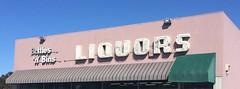 BOTTLES 'N' BINS PACIFIC GROVE CALIF (ussiwojima) Tags: bottlesnbins liquorstore liquor pacificgrove california neon advertising sign