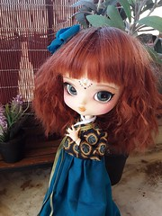 Yeolume - hanbok (Lunalila1) Tags: doll groove yeolume handmade outfit korean hanbok 16 scale custom custo fc