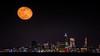 Moonrise over Cleveland, Ohio (Alan Studt) Tags: alanstudt nikon d600 sigma150600mmf563dgoshsmcontemporary shotinrawformat adobelightroom moon moonrise ohio cleveland