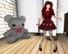 2017 Coordinate 5 (littlerowan) Tags: secondlife egl lolita sweetlolita doll dolly dollface circlecheeks ringlets twintails redhair petticoat pannier puppet bloomers tights maryjanes hearts ayashi angelica adoreandabhor tsg thesugargarden melonbunny ambrosia izzies boom