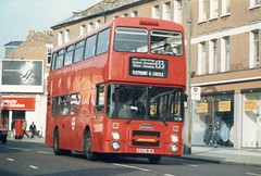 February 1988 Tooting B102WUW (togetherthroughlife) Tags: 1988 bus dennis northerncounties b102wuw h2