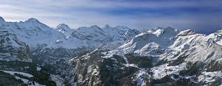 The Schilthorn Winter Panorama .Canton of Bern Switzerland. Izakigur  29 12 2017. no. 5.
