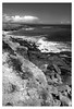 Portland  -  Dorset (fenman_1950) Tags: portlandbill cliffs monochrome blackandwhite