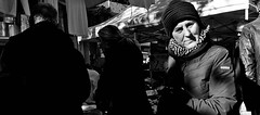 Despaceto. (Baz 120) Tags: candid candidstreet candidportrait city candidface candidphotography contrast street streetphoto streetcandid streetphotography streetportrait sony a7 fullframe rome roma romepeople romestreets europe women monotone monochrome mono noiretblanc bw urban blackandwhite life people portrait primelens italy italia girl grittystreetphotography faces decisivemoment strangers