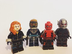 Marvel Heroes and 150'th Marvel Photo. (David$19) Tags: lego legomarvel marvel legomarvelsuperheroes blackwidow starlord endofearthspiderman antman legocustomminifigures legocustomsuperheroes marveltoys legophotography legophotographer marvelcomics marvelfans alternateuniforms avengers davids19 superheroes legosuperheroes legocustomblackwidow legocustomantman legocustomstarlord legocustomendofearthspiderman