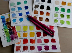 Playing With Color (cheesemoopsie) Tags: sketch croquis watercolor aquarelle