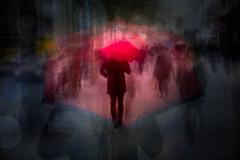 The Umbrella (RCARCARCA) Tags: 70200l stalbans photoartistry pedestrians people umbrella 5diii highstreet canon