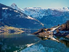 Wägitalersee (torremundo) Tags: landschaften berge bergseen seen spiegelungimwasser innerthal schwyz schweiz wägitalersee