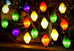 "Hoi An Street Lanterns (sembach001) Tags: vietnam ""hoi an"" lanterns illuminate colorful ""street scene"" nikon 5300"