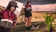 Blog!Where are we Boy? (Kai Yosh (Kairi Zamani) Blogger/Photographer) Tags: cute desert backdropcity amitomo pumpkin beusy nerdy nomad secondlife slblog 2ndlife avatar puppy jian random matter pose fashion skirt jacket cap glasses inhaler equal boots new mesh
