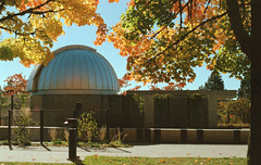 Trottier Observatory (jvde) Tags: 50mmf14nikkor burnaby coolscan film fujicolor400 nikonfe sfu