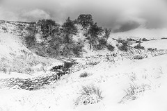 Cumbria in the winter (j0hnnyg) Tags: cumbria water stone wall barn snow winter country