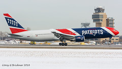 N36NE (coreybrickner) Tags: patriots ne n36ne superbowl kraft nfl airkraft boeing b767 b763 b767323 nikon tamron msp avgeek airlines aviation airport spotting