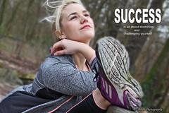 SUCCESS MOTIVATION (biboo-photography) Tags: biboophotography motivation success stretch athlete blond beauty portrait photo
