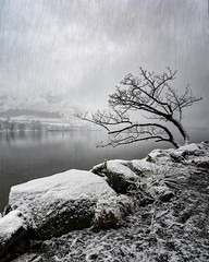 falling skies (akh1981) Tags: snow landscape lakedistrict lake travel trees tranquil nikon nisi nature outdoors manfrotto mountains moody wideangle walking water buttermere lakeside cumbria clouds