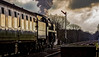 """""""Leicester City"""" (Peter Leigh50) Tags: 9f 92214 steam leicestershire locomotive engine quorn gcr great central railway railroad rail train"""