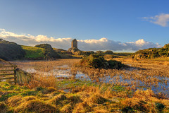 Golden light over Smailholm Tower (MilesGrayPhotography (AnimalsBeforeHumans)) Tags: 1635 fe1635mm sonyfe1635mmf4zaoss a7ii ladyhill peel britain europe evening fe f4 glow golden historic historicscotland haze iconic ilce7m2 landscape lens landscapephotography monument melrose kelso hill nd outdoors old oss photography photo photographer tranquil reflections rocks ruins scotland sky scenic skyline sunset sunlight sonya7ii sony sonyflickraward scottish scottishlandscapephotography scottishborders town uk unitedkingdom village water wide wideangle zeiss
