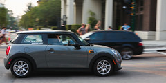 yaletown dash (n.a.) Tags: mini panning car howe pacific vancouver bc canada