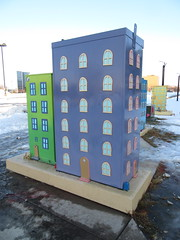 Utility Art (TheTransitCamera) Tags: utility box art painted decorated clean design public house minnesota