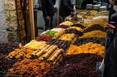 JA_Israel_01-16-17_Edited-4152 (skinbones63) Tags: israel travel nikon d7000 cropped sigma 2460mm sigma2460mmf28 winter natural light vacation tourist tour trip flight middle east middleeast food fruit snack shuk delicious tasty yum dried jerusalem