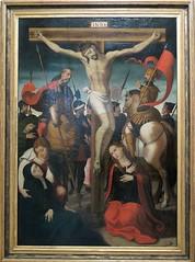 JUAN CORREA DE VIVAR - LA CRUCIFIXION (mflinera) Tags: oviedo asturias museo de bellas artes pintura juan correa vivar crucifixion arte
