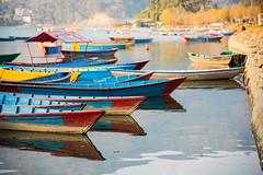 Phewa lake (rfabregatmoliner) Tags: lake water reflection boats pokhara nepal asia travel travelphotography nikon nikond750 nikkor