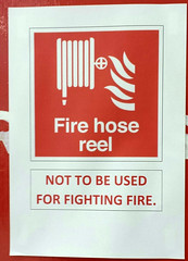Edinburgh College of Art (davidmcnuh) Tags: scotland edinburgh edinburghcollegeofart artschool firehose hosereel art pictogram