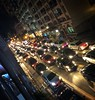 City Lights of Makati (BenMode) Tags: iphonex trafficjam traffic cars nightshot citylights makati