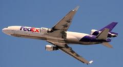 McDonnell Douglas MD-11 N603FE (707-348C) Tags: losangeles thehill lax mcdonnelldouglas klax mcdonnell douglas md11 federalexpress fedex freighter cargo airliner jetliner n603fe california triple