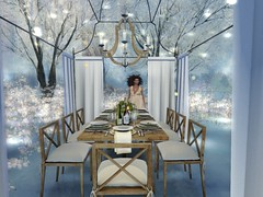 Have a seat at my table (pixelatenoor) Tags: sl whimsical decor exteriors virtual avatar winter luanes secondlife secondlife:region=morningglow secondlife:parcel=luanesmagicalworld secondlife:x=147 secondlife:y=93 secondlife:z=21