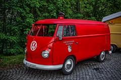 Fire truck VW T1 (Peter's HDR-Studio) Tags: petershdrstudio hdr classiccar car vw vwt1 transporter feuerwehr firetruck