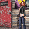 🍎 meet me back stage ;) (Apple aka Ossia) Tags: maitreya catwa skinnery conviction sintiklia birdy luder luxe arcade thearcade gacha secondlife second life sl blogger blogging blog photograph portrait photography photoshop redhead ginger gacharare rare lace leather jeans decor backdrop pose