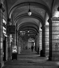 """Darkness"" (giannipaoloziliani) Tags: nikonphotography nikoncamera capture monochrome monocromatico italia genova genoa architecture dark capturestreets blackandwhite biancoenero flickr focalpoint streetphotography darkness"
