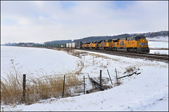 UP 3024 (Justin Hardecopf) Tags: up unionpacific 3024 emd sd70ah sd70acet4 tier 4 z intermodal woodbine iowa railroad train
