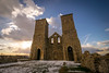 Wintery Reculver Towers (Aliy) Tags: wintery wintry cold snow snowy reculver reculvertowers tower towers ruin ruined church