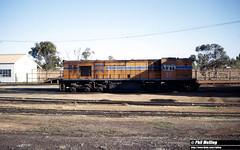 3281 KA211 Kalgoorlie Loco 21 August 1982 (RailWA) Tags: railwa philmelling westrail 1982 ka211 kalgoorlie loco