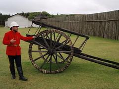 Historic Fort Walsh Canada  Happy Fence Friday (Mr. Happy Face - Peace :)) Tags: hff redcoat cart spokes fencefriday happyfencefriday nwmp rcmp fort walsh history 1800s man mountedpolice treaty7 treaty8 treaty6 historic