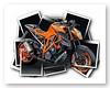 Illustration KTM Duke (VECTOR'IC) Tags: illustration vector bike moto