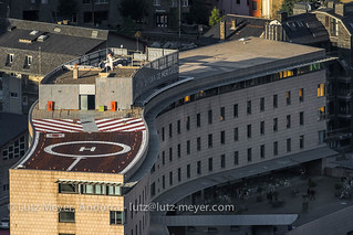 Andorra architecture: Escaldes-Engordany, E-E, Andorra city, the center, Andorra